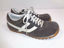 31259a3a7da American Eagle Outfitters Shoes Sneakers Gray Suede Mens Size 9 Good  Condition