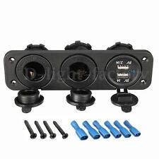 2.1A 12V 3 Port Car Charger Socket Splitter Cigarette Lighter Adapter USB Plug