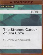 Strange Career of Jim Crow C Vann Woodward MP3 CD Audio Book Unabridged History