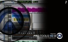Avid Digidesign Pro Tools HD8 and the software
