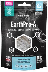 Arcadia EarthPro-A 350gr. natürliches Vollspektrum-Vitaminpulver DAS BESTE!