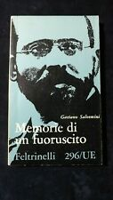 Salvemini: Memorie di un fuoriuscito . Feltrinelli, 1960