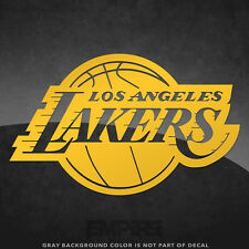 """Los Angeles Lakers NBA Vinyl Decal Sticker - 4"""" and Larger - 30+ Color Options!"""