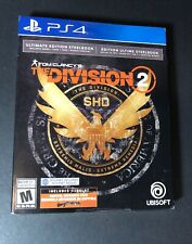 Tom Clancy's The Division 2 [ Ultimate Edition STEELBOOK ] (PS4) NEW