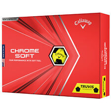 23 Callaway Chrome Soft Truvis Triple Track Yellow & Black Mixed Golf Balls