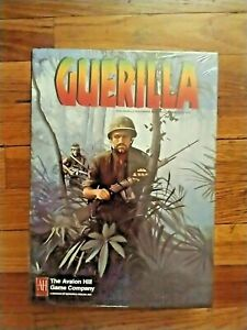 Guerilla Multi-Player Card Game by Avalon Hill 1994 Brand New Factory Sealed
