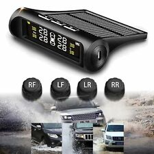 Car Wireless TPMS Tire Pressure Monitor System+4 Sensors LCD Display For Opel