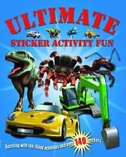 Ultimate Sticker Activity Fun Book - Over 140 Stickers