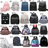 Women Girl Backpack PU Leather Rucksack Travel Shoulder School Bag Handbag New