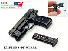 US 1/6 Semi-automatic QSZ92 Pistol Hand Gun Weapon Model Toy F 12
