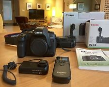 Canon EOS 5D Mark II 21.1MP Camera/ remote, battery grip, 2 batteries (2764B003)