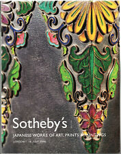SOTHEBY'S / JAPANESE WORKS OF ART PRINTS PAINTINGS  / LONDON 14 JULY , 2006