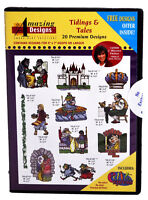 Amazing Designs Tidings & Tales Embroidery CD,  ADP-54J