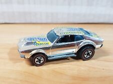 Vintage Hot Wheels Redline 1969 Mighty Maverick _ Chrome _ ! 1/64 Loose