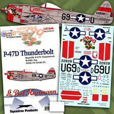 "P-47 D Thunderbolt: 405 FG: ""Jabo"" (1/32 decals, Superscale 320249)"