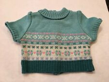 Mia American Girl Doll 2 in 1 Skate Outfit SWEATER Only Retired