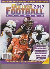PHIL STEELE'S COLLEGE FOOTBALL 2017 PREVIEW, JEFFERSON UT, KIRK A&M,HICKS,OLIVER