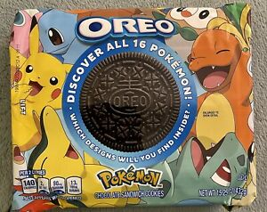 NEW!!! Oreo Pokémon Limited Edition Chocolate Sandwich Cookies (1 Package)
