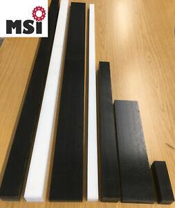POM Zuschnitt Vierkant Leiste 15-100mm 15€/m -100€/m schwarz weiß Platte L wählb