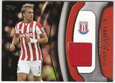 2015 Topps Premier Gold Marc Muniesa Jersey Card (Stoke City)