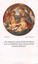 """holy cards Heiligenbild Gebetbild Andachtsbild""""H4155"""" heilge Familie"""