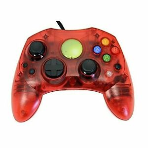 Lot Of 10 Replacement Controller For Xbox Original Red Transparent By Mars Xbox