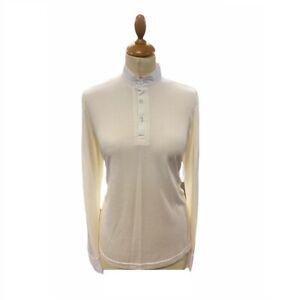 Gatehouse Ladies Large UK14 Hunt Shirt - Off White - WAS £31.70