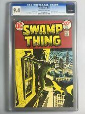 Swamp Thing 7 - CGC 9.4 - 1st Meeting of Batman & Swamp Thing - ICONC KEY