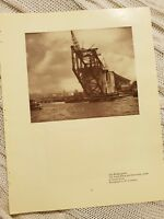 The Harbour Bridge - 1929 Magazine Print