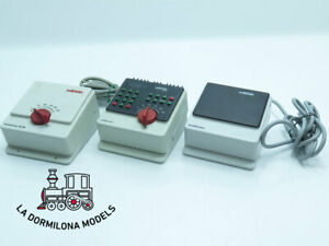 DV326 MÄRKLIN 6021 + 6002 + 6647 TRANSFORMADORES + CONTROL UNIT