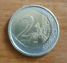 2 EURO ERRORE CONIO  MINT ERROR FEHLPRÄGUNG SPIEGELEI  EGG UOVO  FAUTEE COEUR