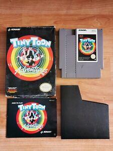 Nintendo NES Jeu Tiny Toon Adventures + Notice + Boite