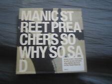 Manic Street Preachers - So Why So Sad. CD Single. Non-Album Tracks