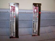 2 Value Packs Tombow Mono Zero Eraser and Refill Round 2.3mm - Brand New
