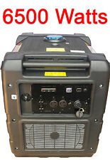 DIGITAL 6500 WATT Gas Generator Pure SInewave INVERTER quiet portabla rv camping