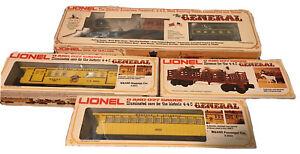 Lionel the general W&ARR train set
