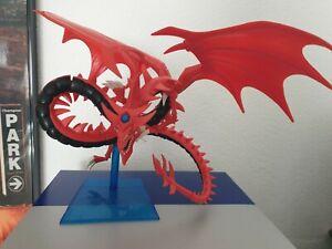 Yu-Gi-Oh! Slifer the Sky Dragon Deluxe Model Kit /Mattel Figur ein Bein fehlt