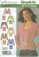Simplicity 4779 Misses' Knit Twin Sets 14 to 22 *Comp @ $8.30  Sewing Pattern