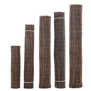 Willow Screening Natural Hurdle Garden privacy fence Roll Sun Protection 5 Sizes