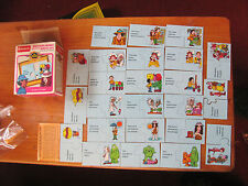 Electric Company Matching Marks Match-Ups card game NICE
