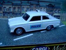 1/43 CORGI CLASSICS  #  D708 FORD CORTINA SALOON Police