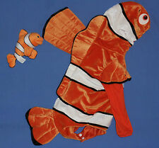 Disney Finding Nemo costume DressUp;toddler 12 mo.plush clown fish;soft toy LOT