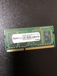 Synology Original DS216+II 1GB DDR3L 1600MHz CL11 RAM Memory 1.35v