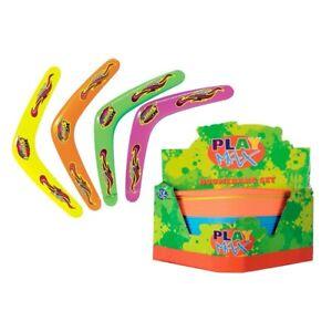 Neon Colour Boomerang 29cm Outdoor Fun Kids Toy CHOOSE COLOUR **FREE P&P**