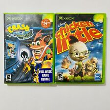 Crash Bandicoot Wrath Of Cortex - Chicken Little - Xbox Original Game Lot Set