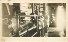 C-1910 Occupation Worker Industry Machinery Interior RPPC real photo 215