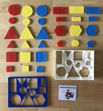 Invicta Educational Aids Desktop Attribute Logic Aids Montessori Preschool