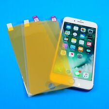 Clear Full Cover TPU Plastic Screen Protector LOT For Apple Iphone 8, 7, 6S, 6