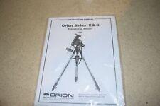 < Jm > ORION Sirius Eq-G Équatorial Support #9995 Instruction Manuel (M367)