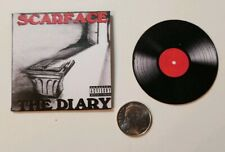 Miniature record album 1/6  Playscale Rap  Hip Hop Scarface The Diary
